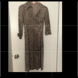 DVF Diane Von Furstenburg silk shirt dress 4